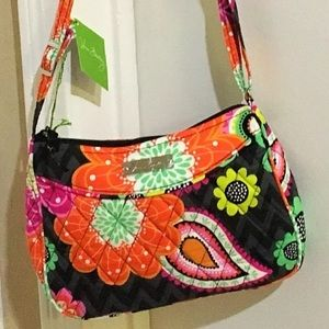 VERA BRADLEY ZIGGY ZINNIA LITTLE CROSSBODY PURSE